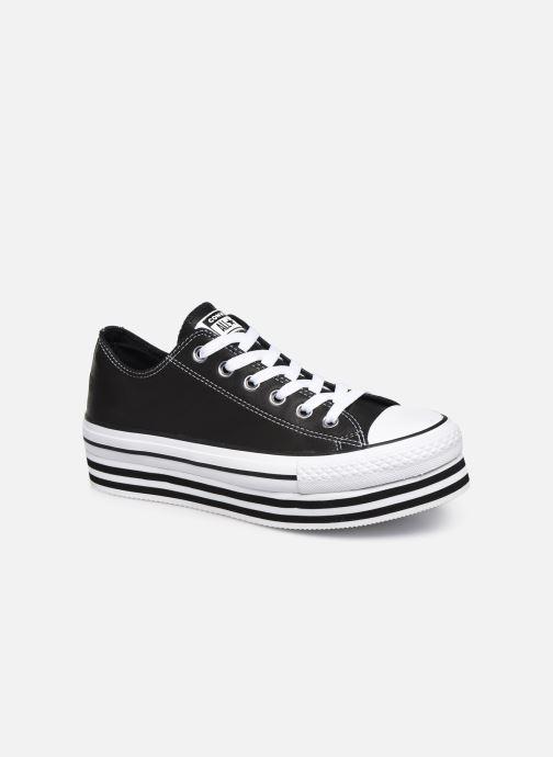 Sneakers Converse Chuck Taylor All Star Layer Bottom Ox Nero vedi dettaglio/paio