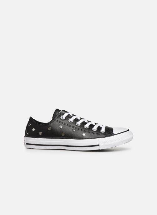 Sneakers Converse Chuck Taylor All Star Leather Studs Ox Zwart achterkant