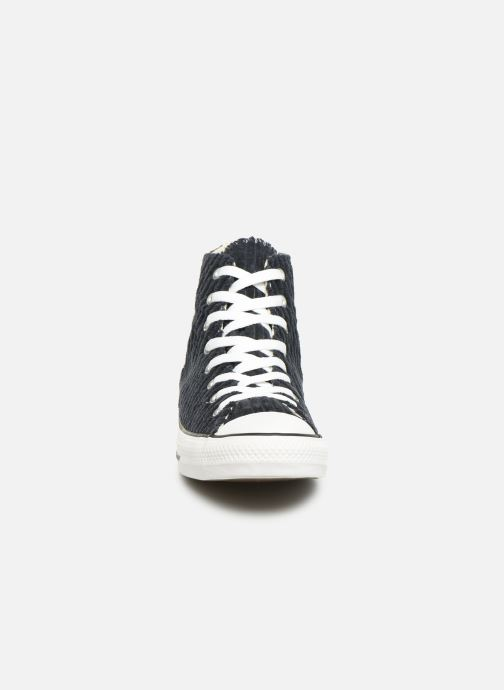 Trainers Converse Chuck Taylor All Star Wide Wale Cord Hi Blue model view