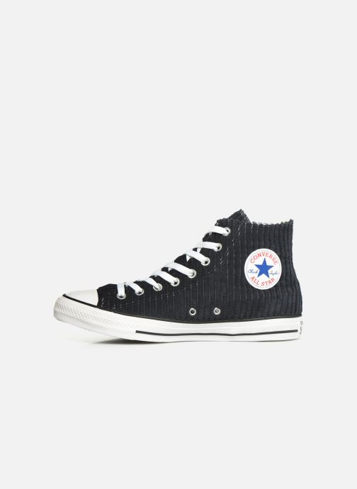 Trainers Converse Chuck Taylor All Star Wide Wale Cord Hi Blue front view