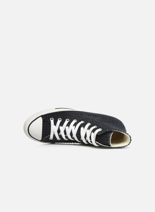 Trainers Converse Chuck Taylor All Star Wide Wale Cord Hi Blue view from the left