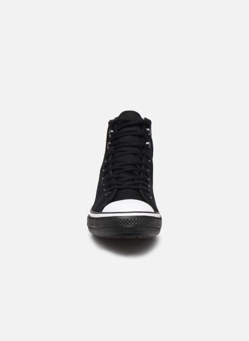 Baskets Converse Chuck Taylor All Star Winter Waterproof Hi Noir vue portées chaussures