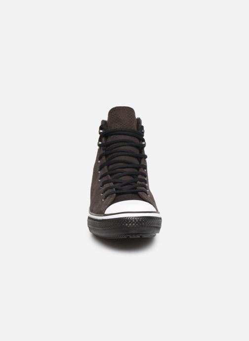 Trainers Converse Chuck Taylor All Star Winter Waterproof Hi Brown model view