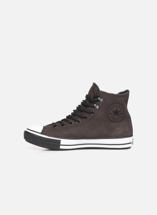 Sneaker Converse Chuck Taylor All Star Winter Waterproof Hi braun ansicht von vorne