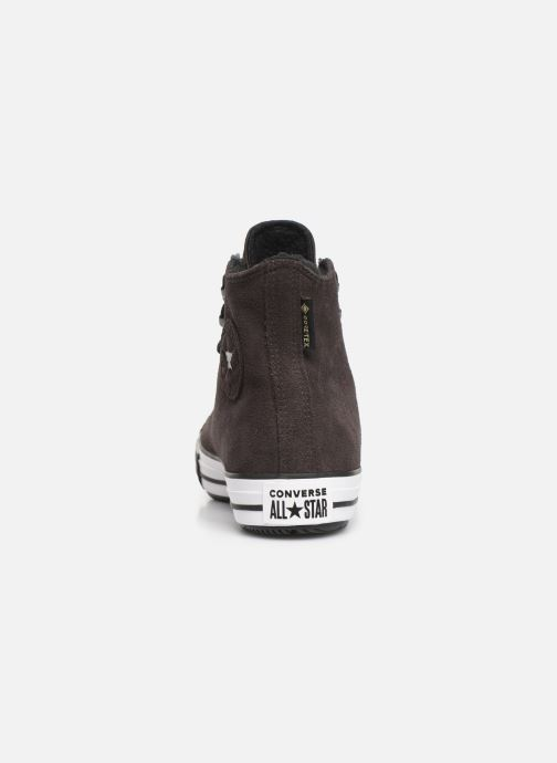 Sneakers Converse Chuck Taylor All Star Winter Waterproof Hi Bruin rechts
