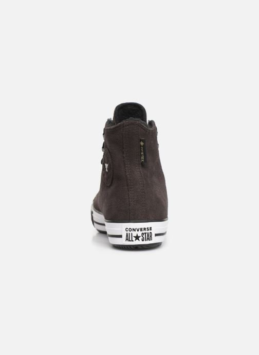 Trainers Converse Chuck Taylor All Star Winter Waterproof Hi Brown view from the right
