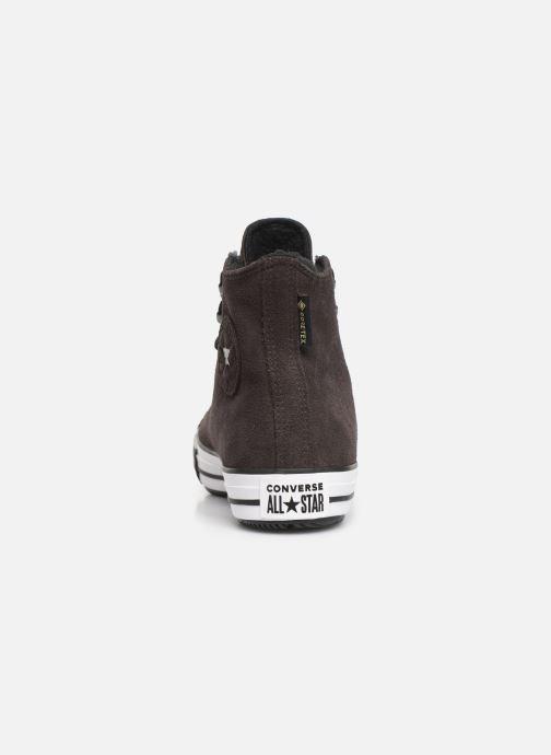 Sneaker Converse Chuck Taylor All Star Winter Waterproof Hi braun ansicht von rechts