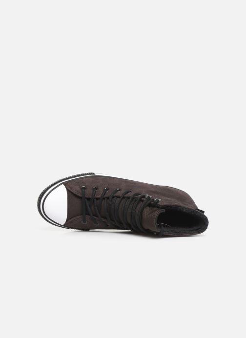 Sneaker Converse Chuck Taylor All Star Winter Waterproof Hi braun ansicht von links