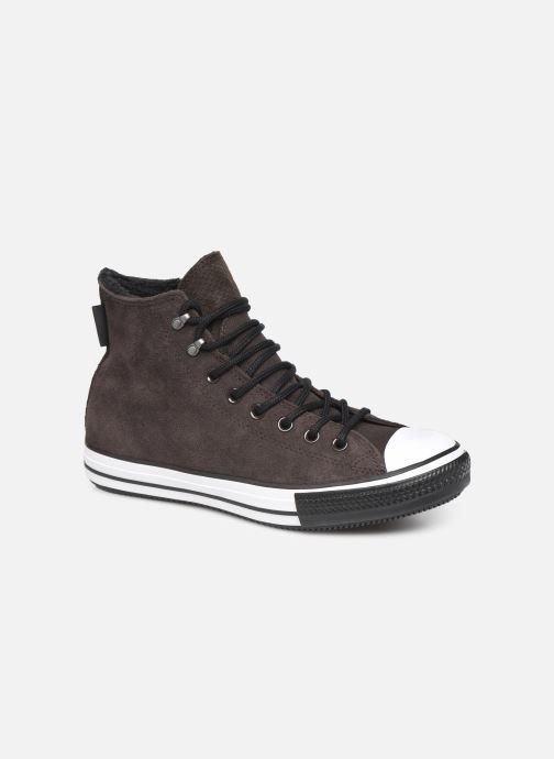 Baskets Converse Chuck Taylor All Star Winter Waterproof Hi Marron vue détail/paire