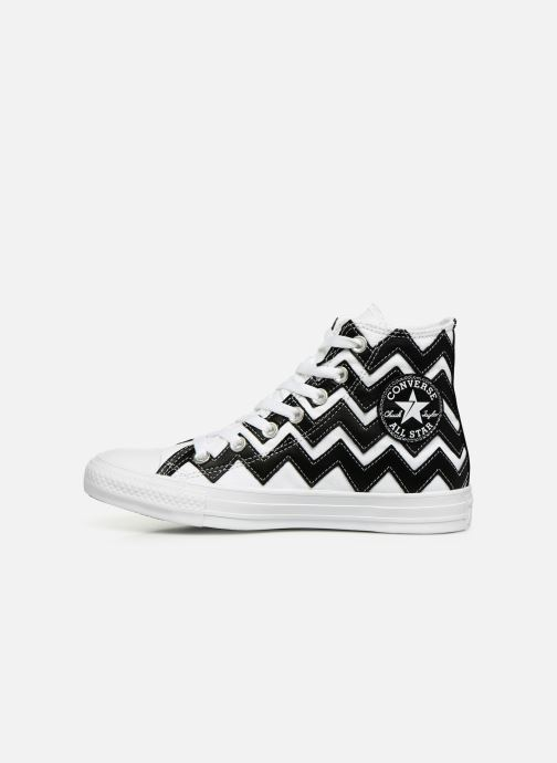 Baskets Converse Chuck Taylor All Star Mission-V Hi Blanc vue face