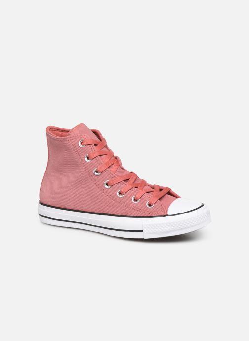 Sneakers Converse Chuck Taylor All Star Retrograde Hi Pink detaljeret billede af skoene
