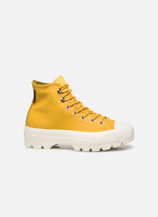 Deportivas Converse Chuck Taylor All Star Lugged Winter Retrograde Hi Amarillo vistra trasera
