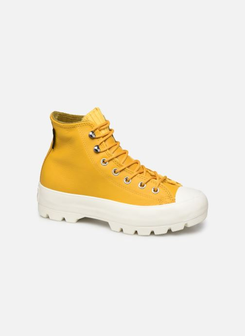 Deportivas Converse Chuck Taylor All Star Lugged Winter Retrograde Hi Amarillo vista de detalle / par