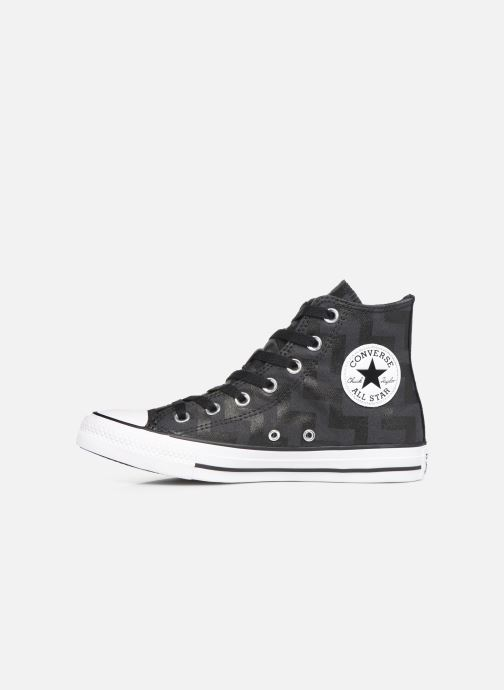 Sneakers Converse Chuck Taylor All Star Glam Dunk Hi Nero immagine frontale