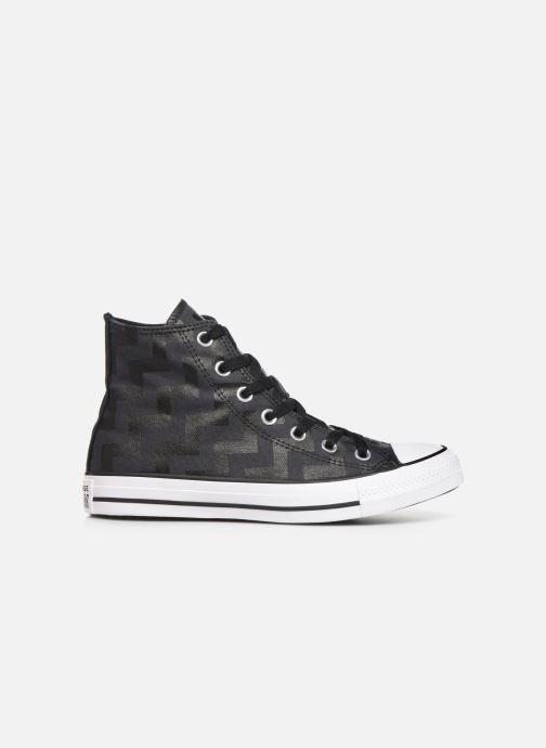 Sneakers Converse Chuck Taylor All Star Glam Dunk Hi Nero immagine posteriore