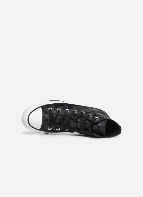 Sneakers Converse Chuck Taylor All Star Glam Dunk Hi Nero immagine sinistra