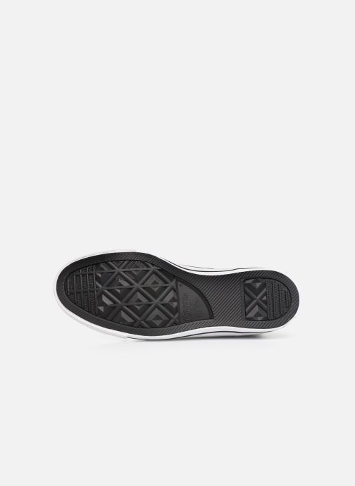 Sneakers Converse Chuck Taylor All Star Glam Dunk Hi Nero immagine dall'alto