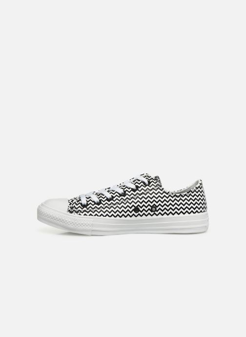 Sneakers Converse Chuck Taylor All Star Mission-V Ox Hvid se forfra