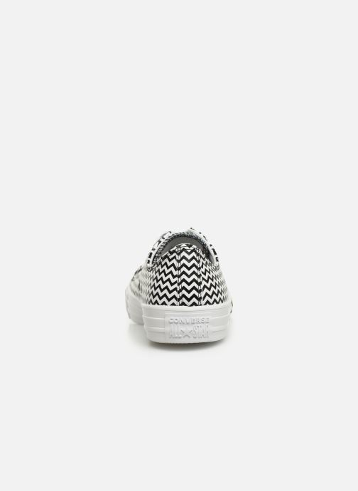 Sneakers Converse Chuck Taylor All Star Mission-V Ox Bianco immagine destra
