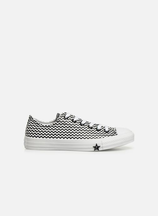 Sneakers Converse Chuck Taylor All Star Mission-V Ox Hvid se bagfra