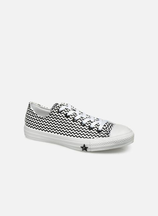 Sneakers Converse Chuck Taylor All Star Mission-V Ox Hvid detaljeret billede af skoene