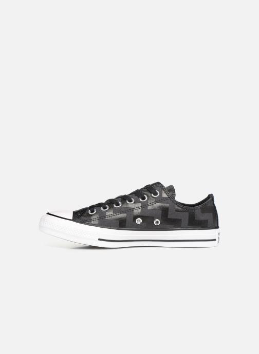 Sneakers Converse Chuck Taylor All Star Glam Dunk Ox Zwart voorkant