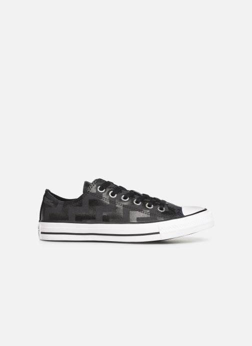Sneakers Converse Chuck Taylor All Star Glam Dunk Ox Zwart achterkant