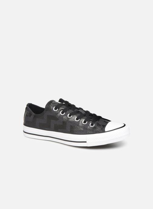 Sneakers Converse Chuck Taylor All Star Glam Dunk Ox Zwart detail