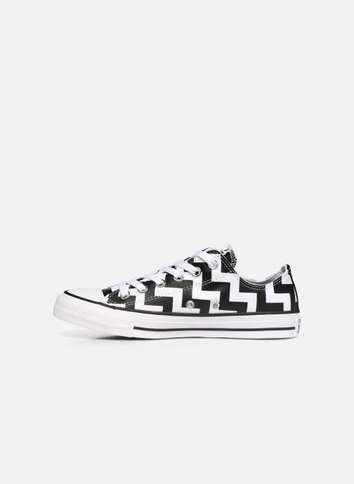 Sneakers Converse Chuck Taylor All Star Glam Dunk Ox Hvid se forfra