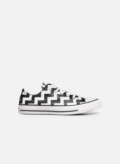 Sneakers Converse Chuck Taylor All Star Glam Dunk Ox Hvid se bagfra