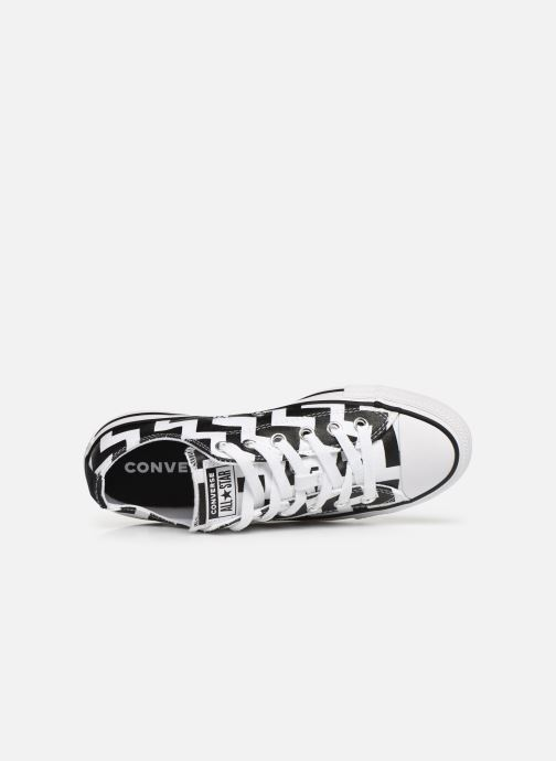 Sneakers Converse Chuck Taylor All Star Glam Dunk Ox Hvid se fra venstre