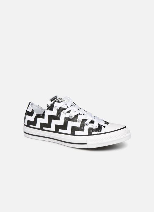 Sneakers Converse Chuck Taylor All Star Glam Dunk Ox Hvid detaljeret billede af skoene
