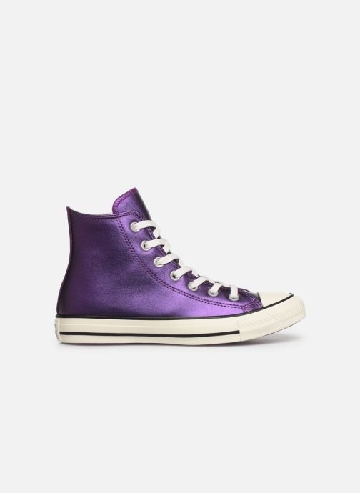 Sneakers Converse Chuck Taylor All Star Glitter Hi Paars achterkant