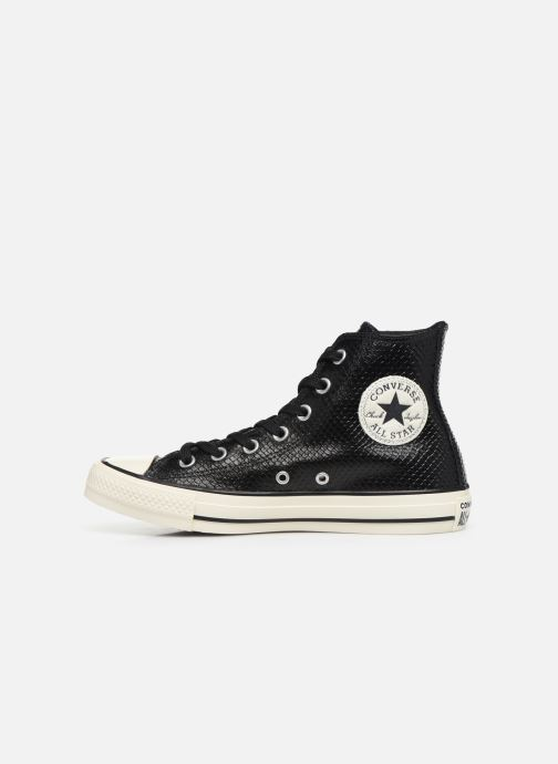Sneakers Converse Chuck Taylor All Star Metallic Snake Hi W Zwart voorkant