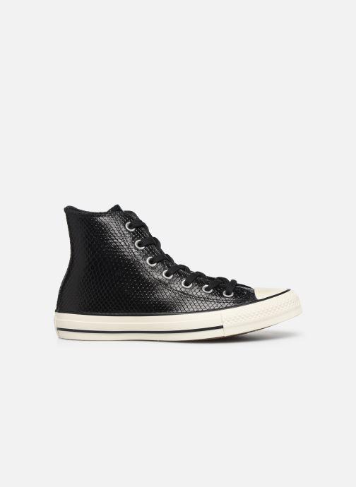 Sneakers Converse Chuck Taylor All Star Metallic Snake Hi W Zwart achterkant
