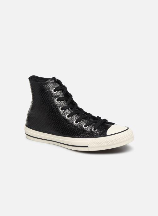 Sneakers Converse Chuck Taylor All Star Metallic Snake Hi W Zwart detail