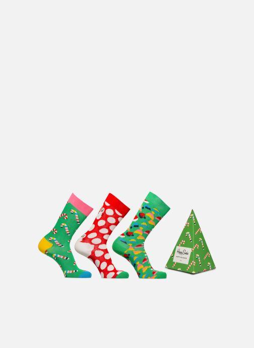 Chaussettes et collants Happy Socks Holiday Tree Gift Box Lot de 3 Vert vue détail/paire