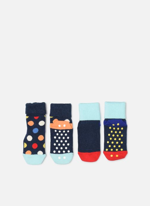 Chaussettes et collants Happy Socks 2 Pack Big Dot Antisleep socks Bleu vue détail/paire