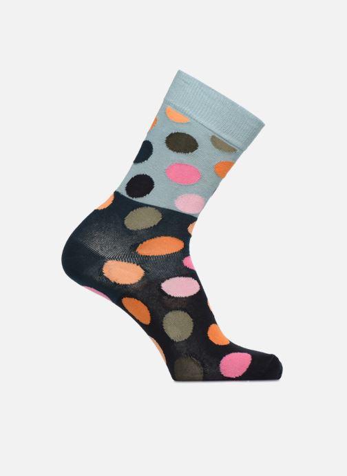 Chaussettes et collants Happy Socks Chaussette Big Dot Block Bleu vue détail/paire