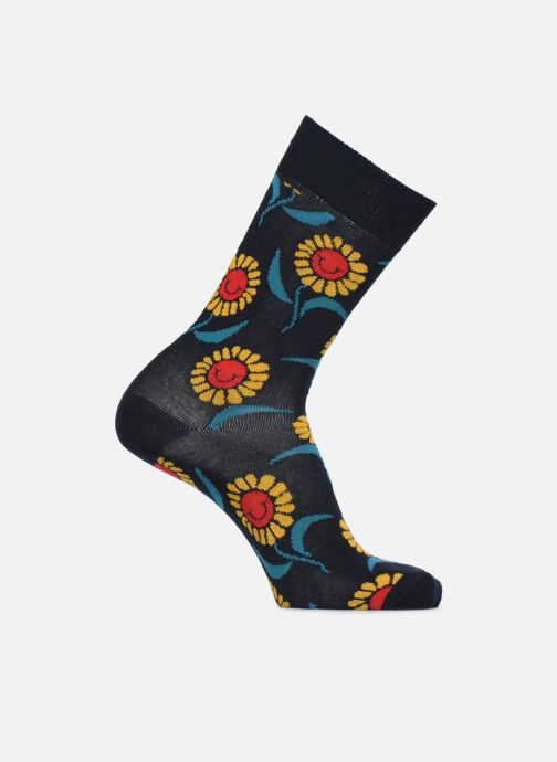 Chaussettes et collants Happy Socks Chaussette Sunflower Bleu vue détail/paire