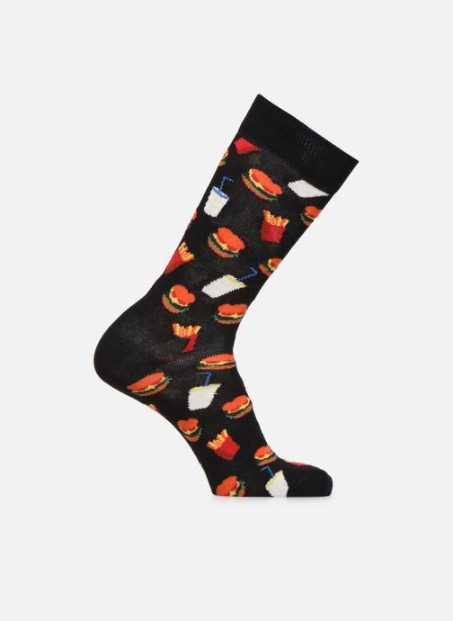 Chaussettes et collants Happy Socks Chaussette Hamburger Noir vue détail/paire