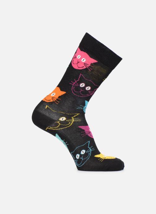 Chaussettes et collants Happy Socks Chaussette Cat Noir vue détail/paire