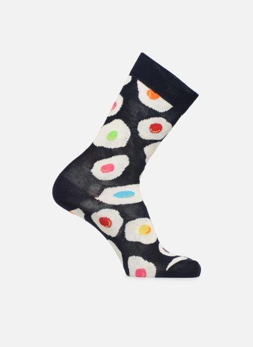 Sokken en panty's Happy Socks Chaussette Egs Sunny Side Up Blauw detail