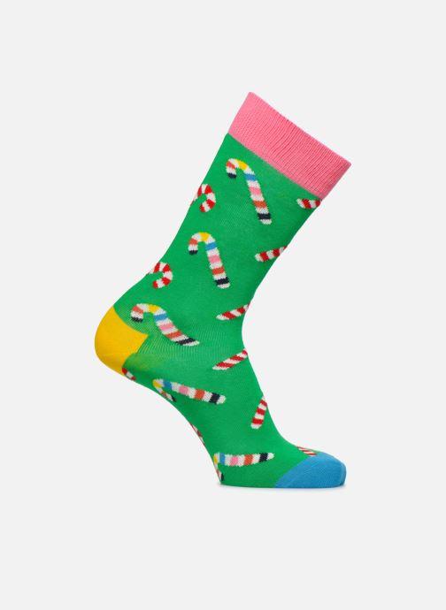 Sokken en panty's Happy Socks Chaussette Candy Cane Groen detail