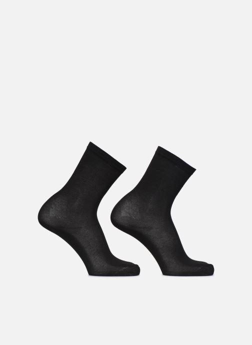 Sokken en panty's BLEUFORÊT Chaussettes Coton Duo Zwart detail