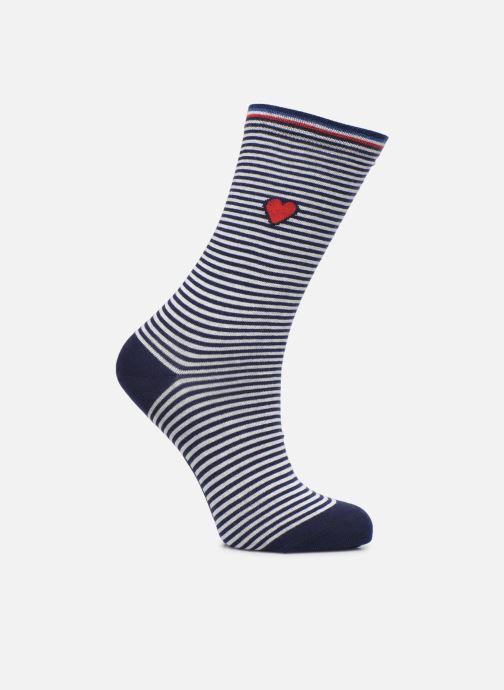 Socks & tights BLEUFORÊT Chaussettes Coton Marinière Blue detailed view/ Pair view