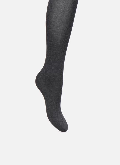 Chaussettes et collants BLEUFORÊT Collant Coton Velouté Adouci à l'Huile d'Argan Gris vue détail/paire