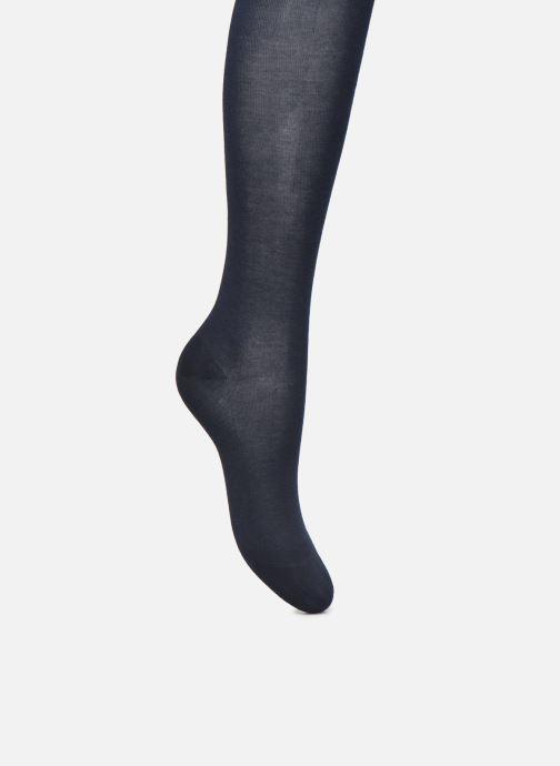 Chaussettes et collants BLEUFORÊT Collant Coton Velouté Adouci à l'Huile d'Argan Bleu vue détail/paire