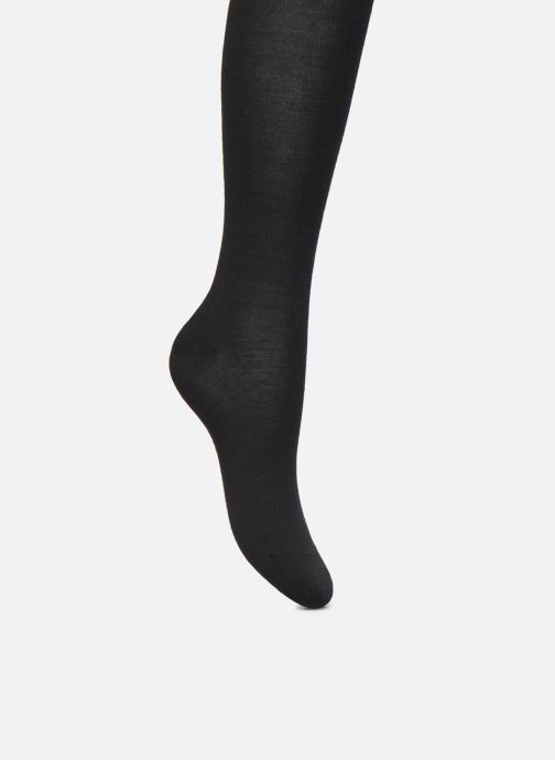 Socks & tights BLEUFORÊT Collant Laine Fine Black detailed view/ Pair view