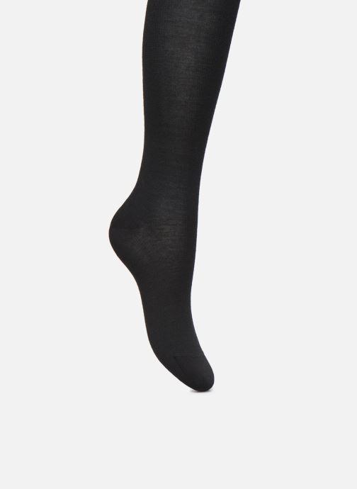 Chaussettes et collants BLEUFORÊT Collant Laine Fine Noir vue détail/paire